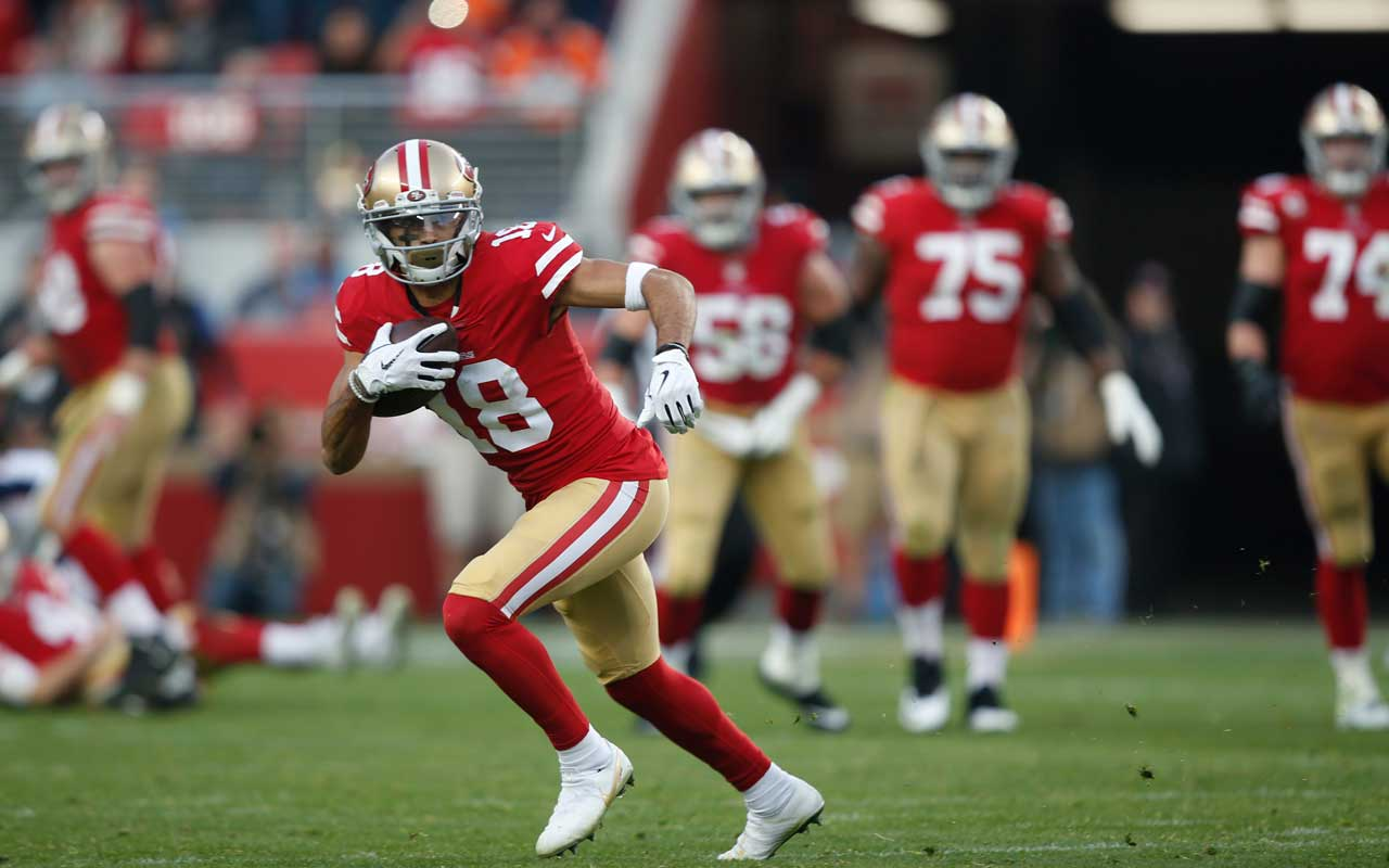 Dante Pettis Is A 2019 Breakout Candidate 4for4