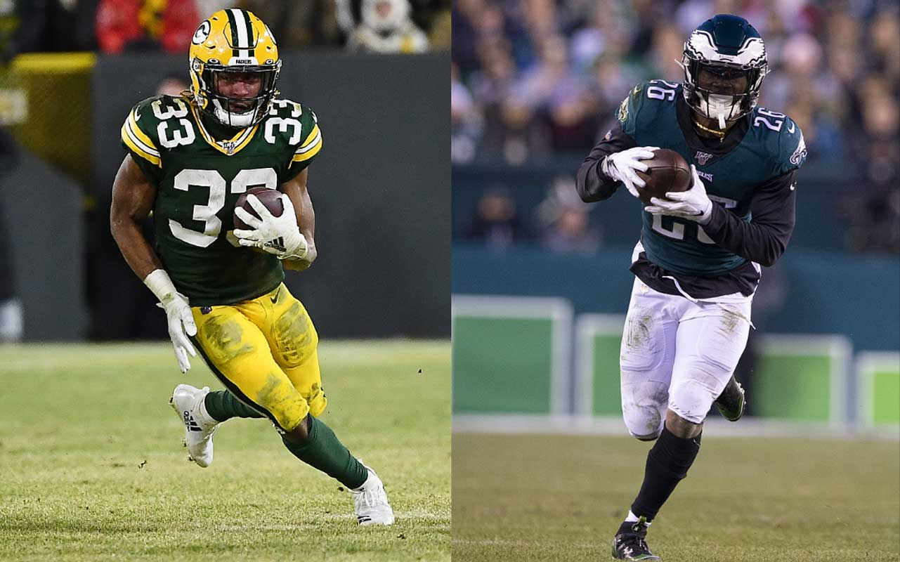 Fantasy Debate Aaron Jones Vs Miles Sanders 4for4