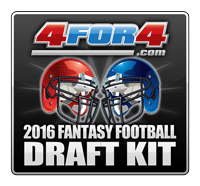 2016 Fantasy Football Draft Kit