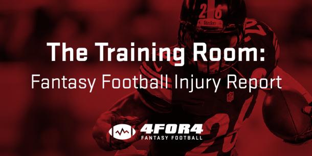 The Training Room: Week 10 Injury Updates