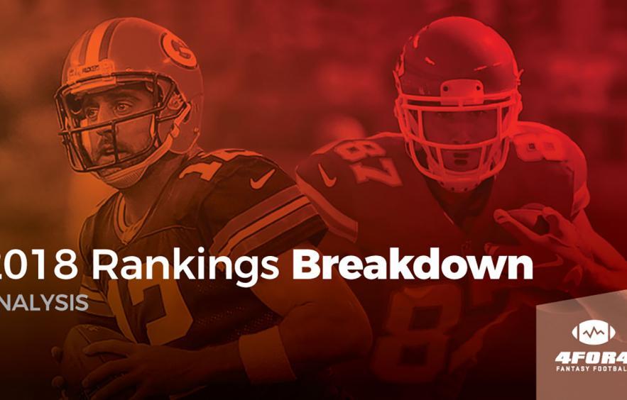 2018 Rankings Breakdown: Quarterbacks & Tight Ends