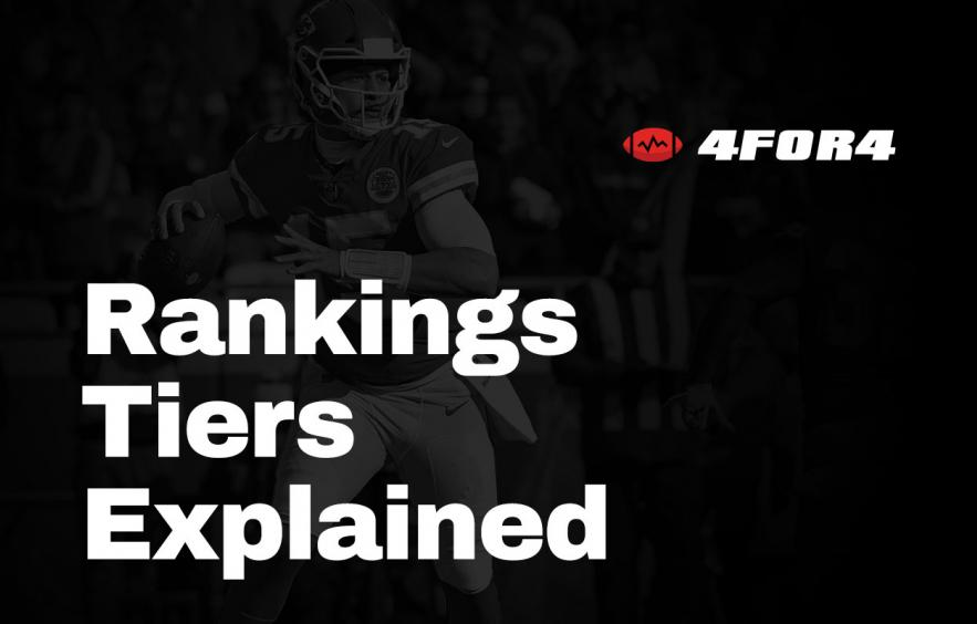 Using Positional Tiers to Dominate Your Fantasy Draft
