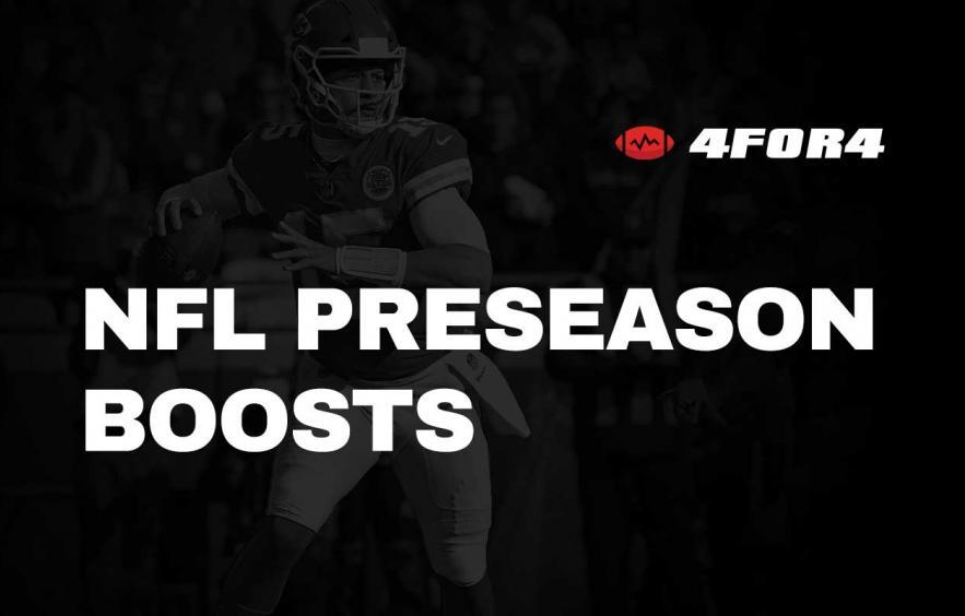 Best Sportsbook Promos & Boosts: NFL Preseason (Ranked)