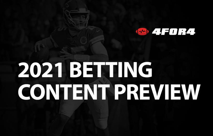 2021 Betting Content Preview