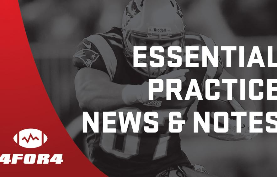 Super Bowl Fantasy Football Practice News & Notes for Friday
