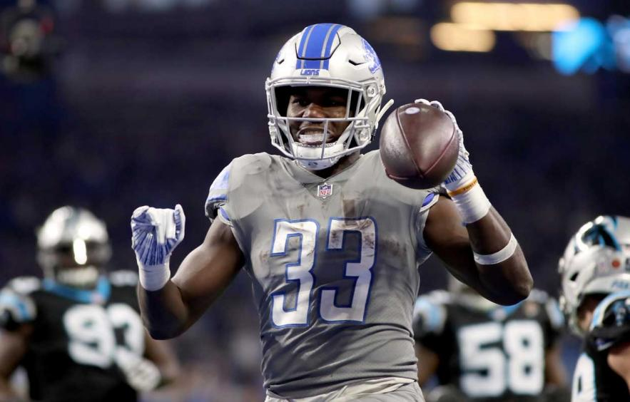 Kerryon Johnson Should Be On Your Fantasy Radar