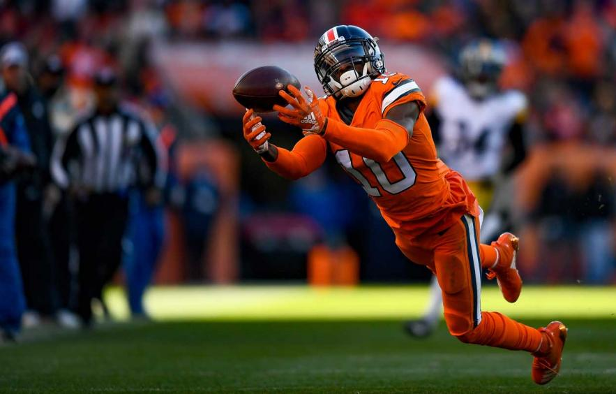 Emmanuel Sanders is a Calculated Risk