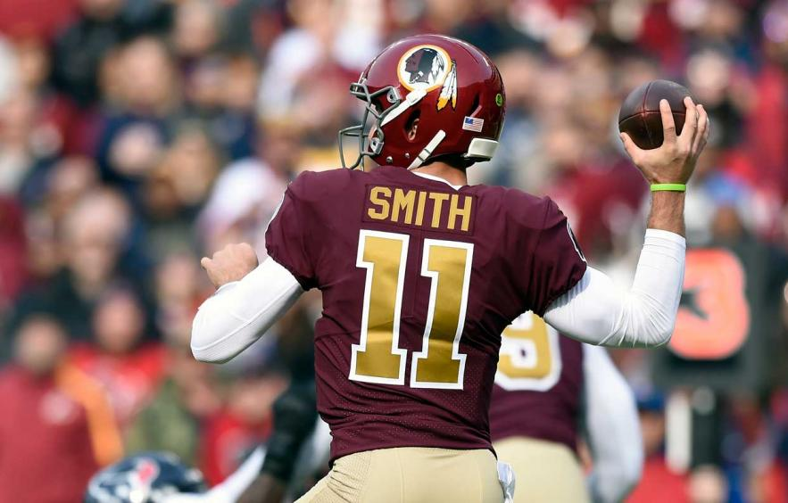 Alex Smith in Jay Gruden's Offense is The Good Place