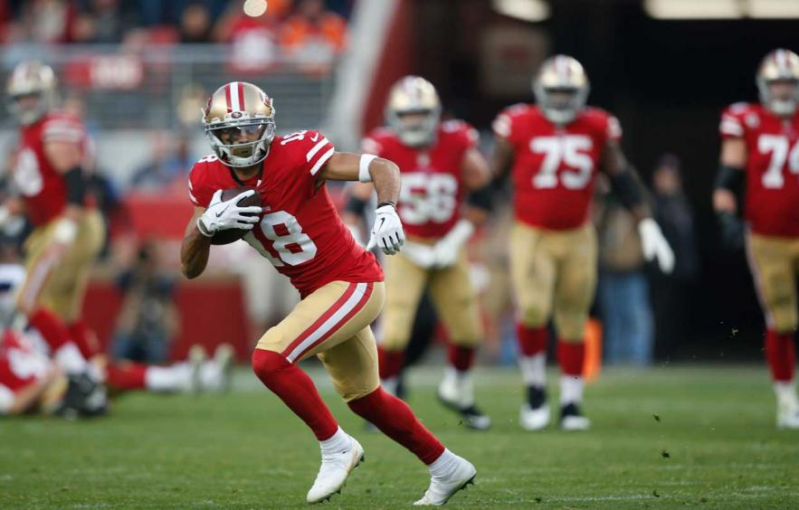 Dante Pettis is a 2019 Breakout Candidate