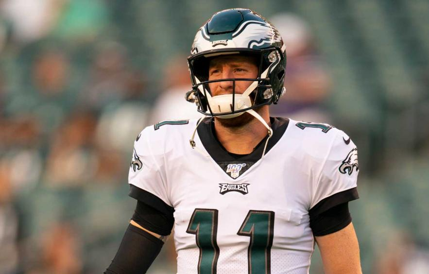 Here S How Carson Wentz Could Blow Away His Adp 4for4