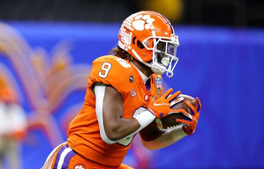 2021 NFL Draft Prop Bet: Travis Etienne O/U Draft Pick 34.5