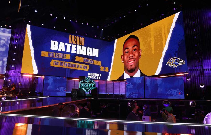 Rashod Bateman Won't Impact the Ravens in 2021