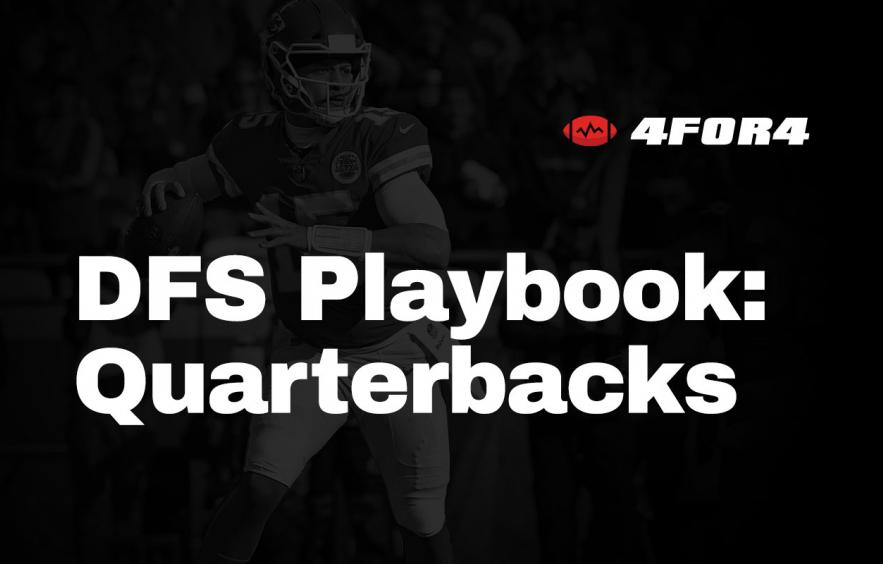 NFL DFS Playbook: Quarterback Strategy Guide