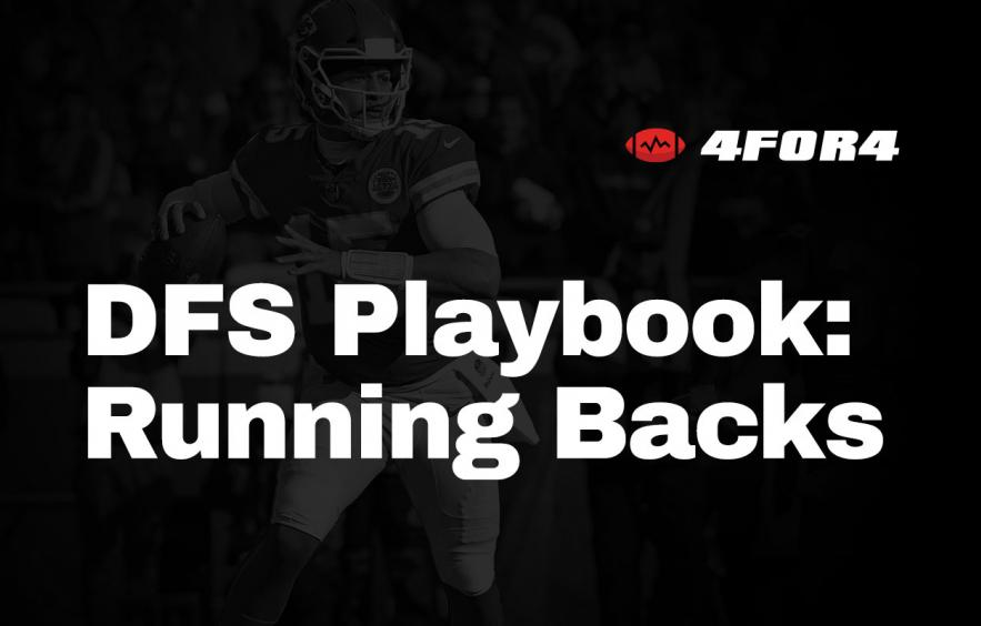 NFL DFS Playbook: Running Back Strategy Guide