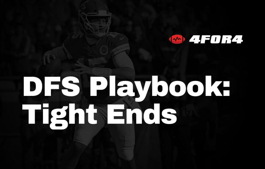 NFL DFS Playbook: Tight End Strategy Guide