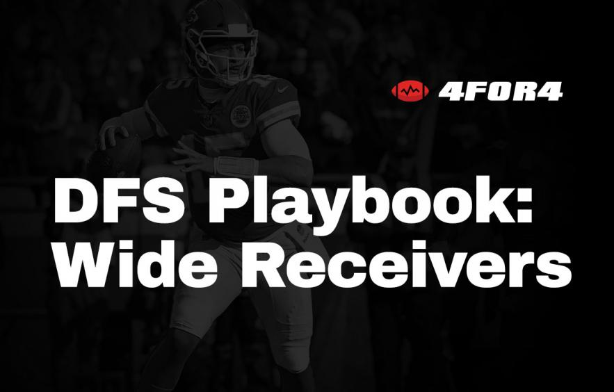 NFL DFS Playbook: Wide Receiver Strategy Guide