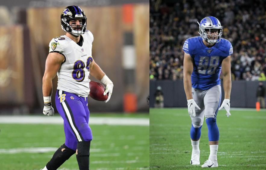 Fantasy Football Debate: Mark Andrews vs T.J. Hockenson