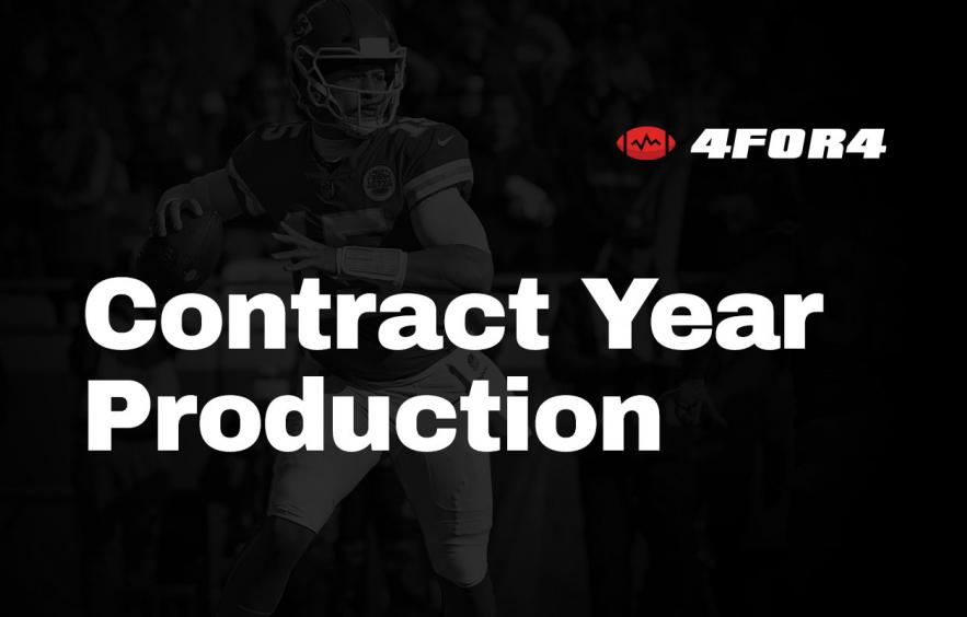 Do Players Perform Better in Fantasy in a Contract Year?