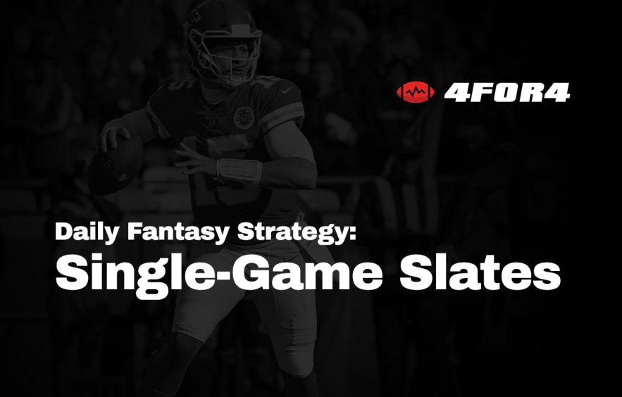 Finding the Edge in Single-Game NFL DFS Slates