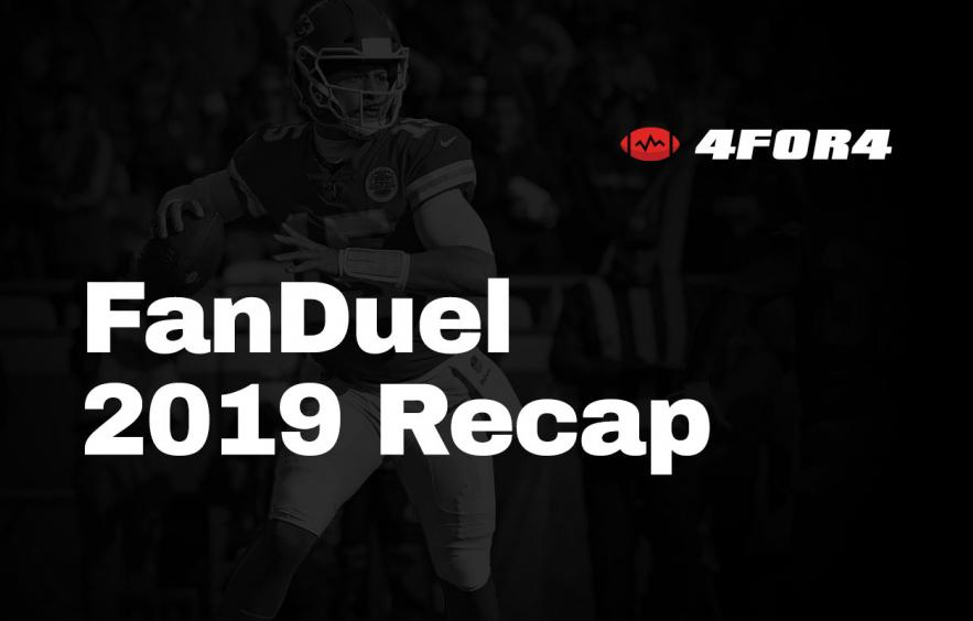 FanDuel Cash Games and GPPs: A 2019 Review