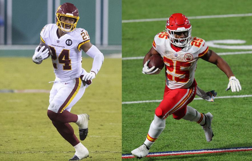 Fantasy Debate: Antonio Gibson vs. Clyde Edwards-Helaire
