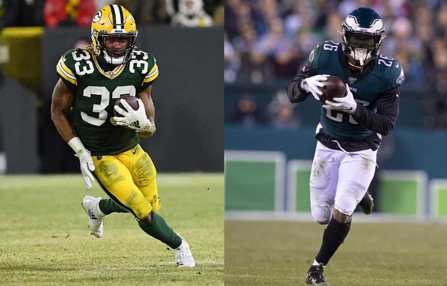 Fantasy Debate: Aaron Jones vs. Miles Sanders