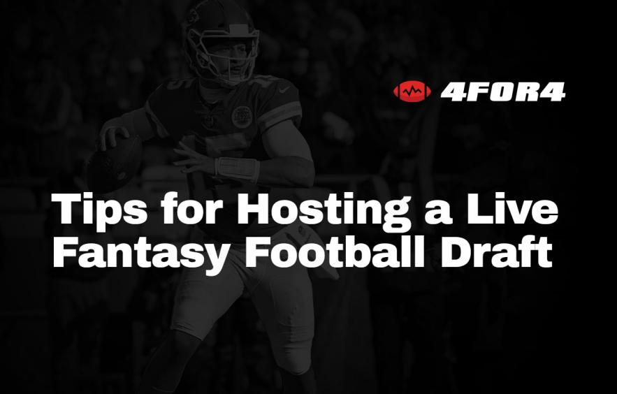 10 Tips for Hosting a Live Fantasy Football Draft