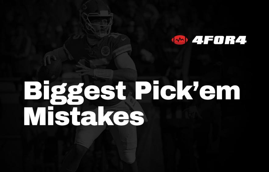 The 4 Biggest Strategy Mistakes in Football Pick'em Pools