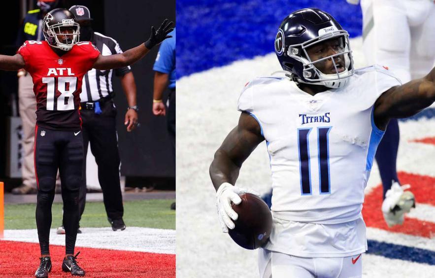 Fantasy Football Debate: A.J. Brown vs. Calvin Ridley