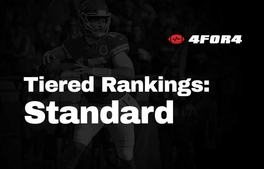 Tiered Rankings for Standard Leagues