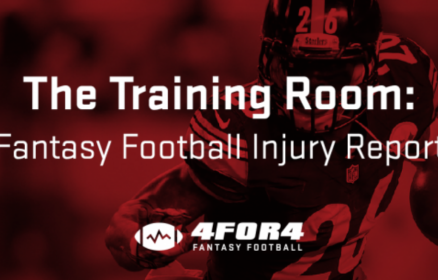 The Training Room: Week 4 Injury Updates