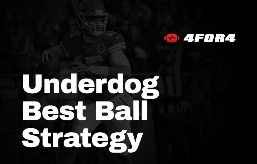 Underdog Fantasy Best Ball Tournament Strategy