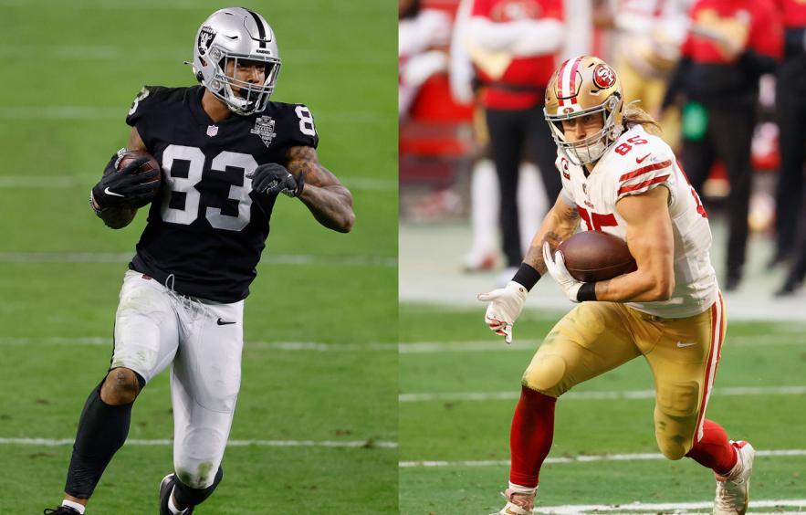 Fantasy Football Debate: Darren Waller vs. George Kittle