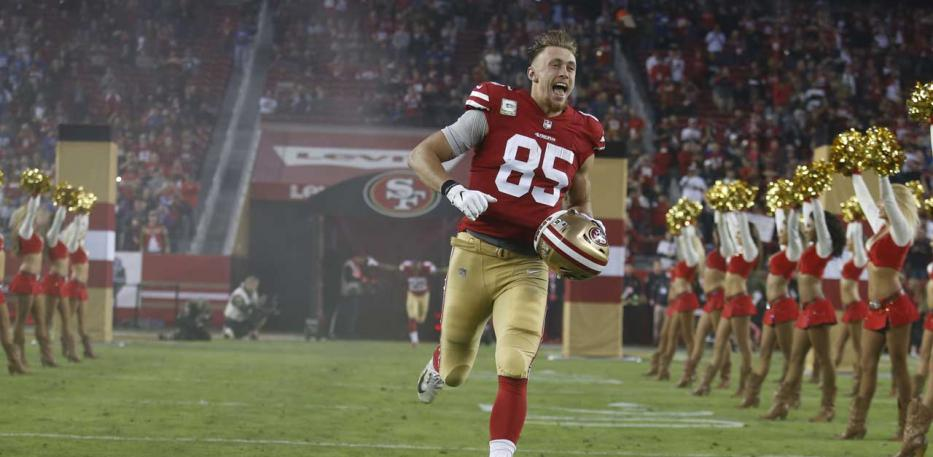 george kittle run out