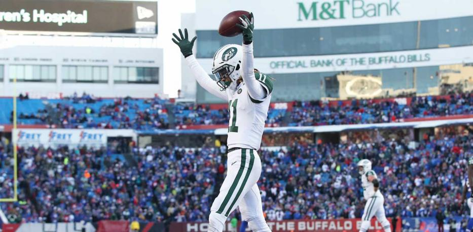 robby anderson clebrating