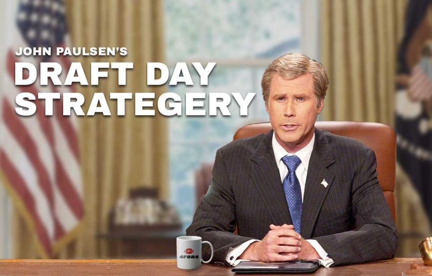 John Paulsen's 2019 Draft Day Strategery