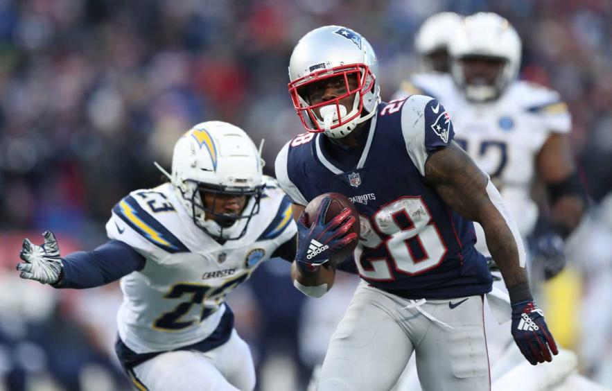 James White: The WR2 with RB Eligibility