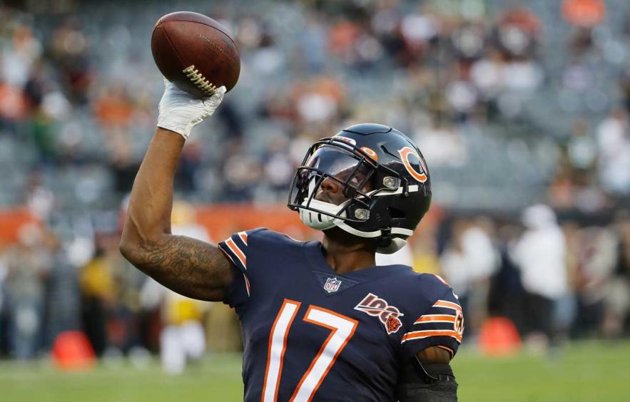 image relating to Redskins Printable Schedule referred to as Monday Night time DFS Solitary-Match Breakdown: Bears at Redskins