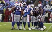 bills offense huddle