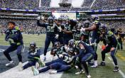seattle seahawks defense td celebration